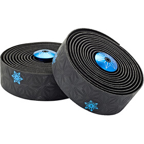 Supacaz Super Sticky Kush Galaxy Handlebar Tape, neon blue print